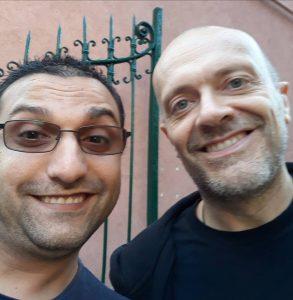 Marian Richero e Max Pezzali al Fabrique