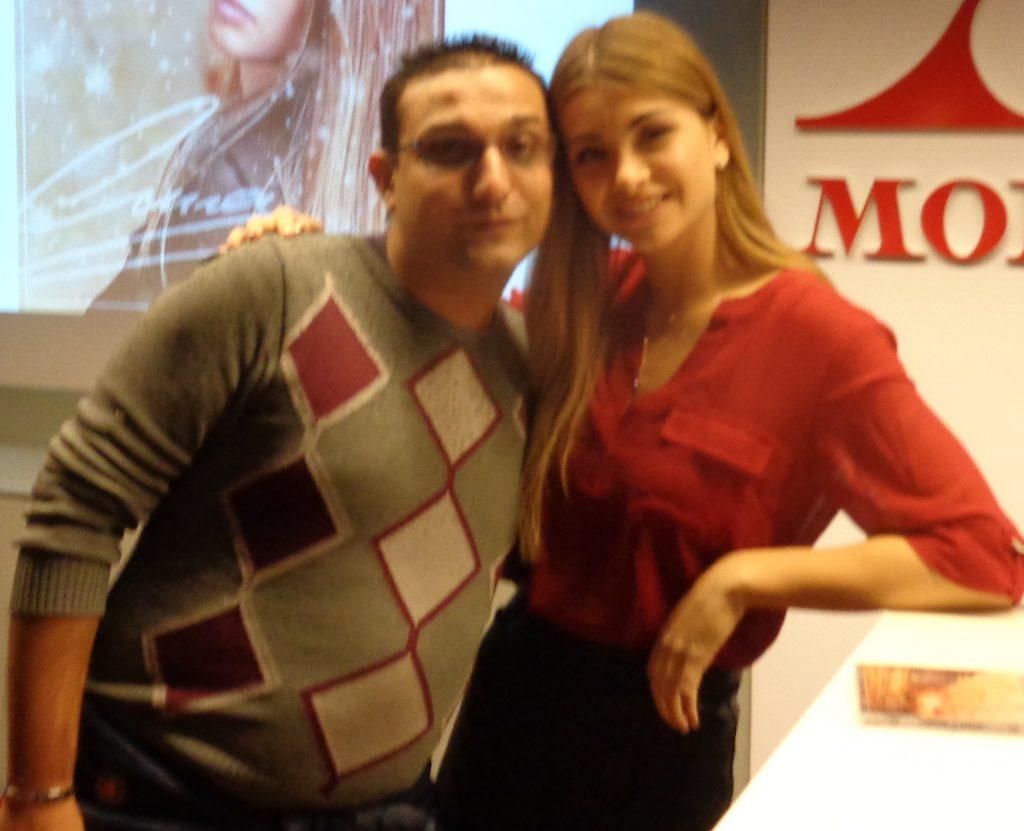 Emma Muscat incontra Marian Richero